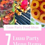 Tropical party foods