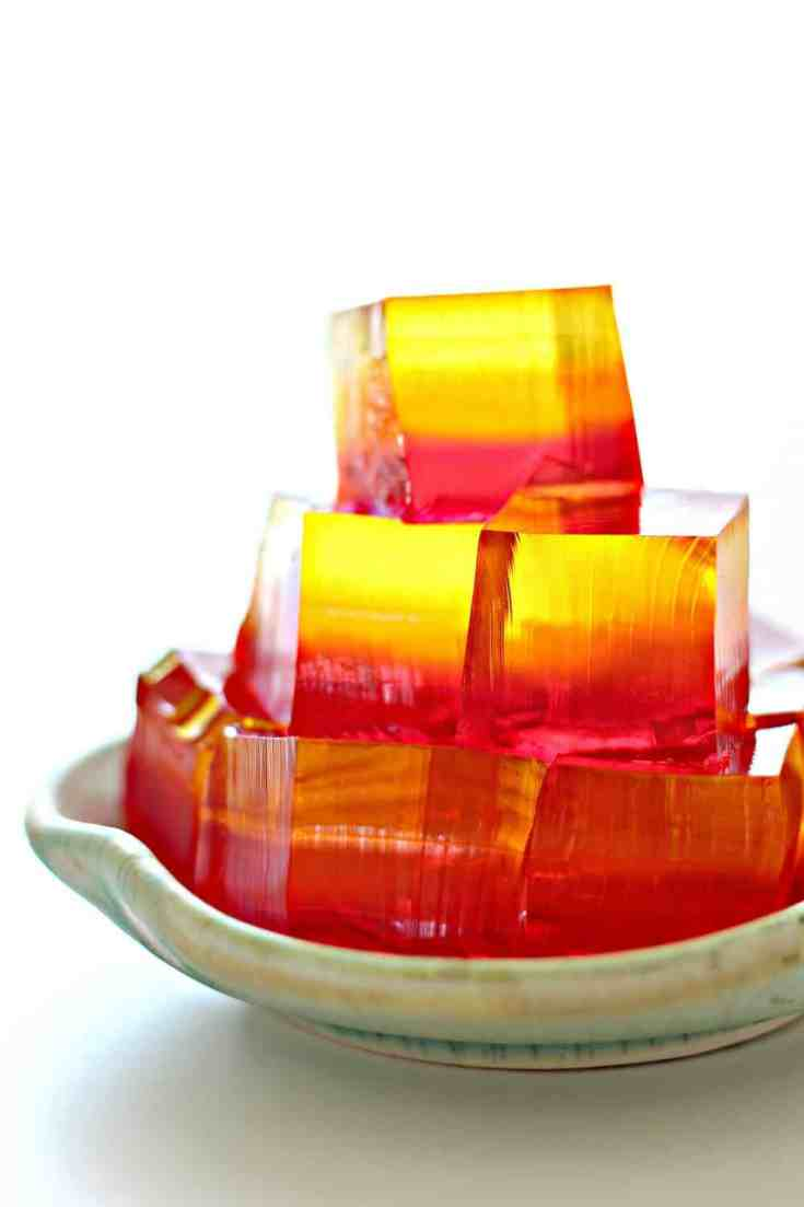Fancy Ombré Finger Jello Recipe