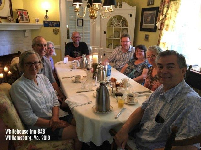 Breakfast with strangers at the Whitehouse Inn B&B