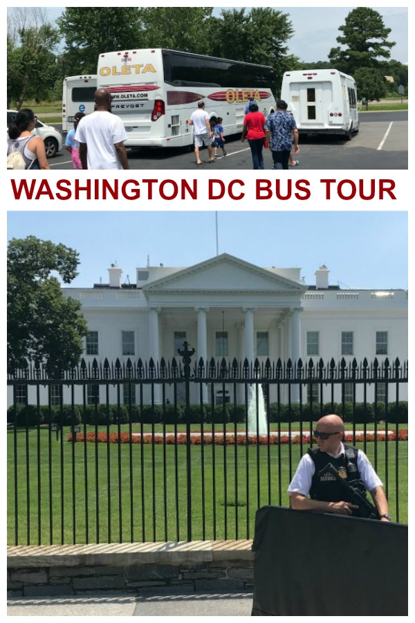 Historic Washington DC Bus Tour