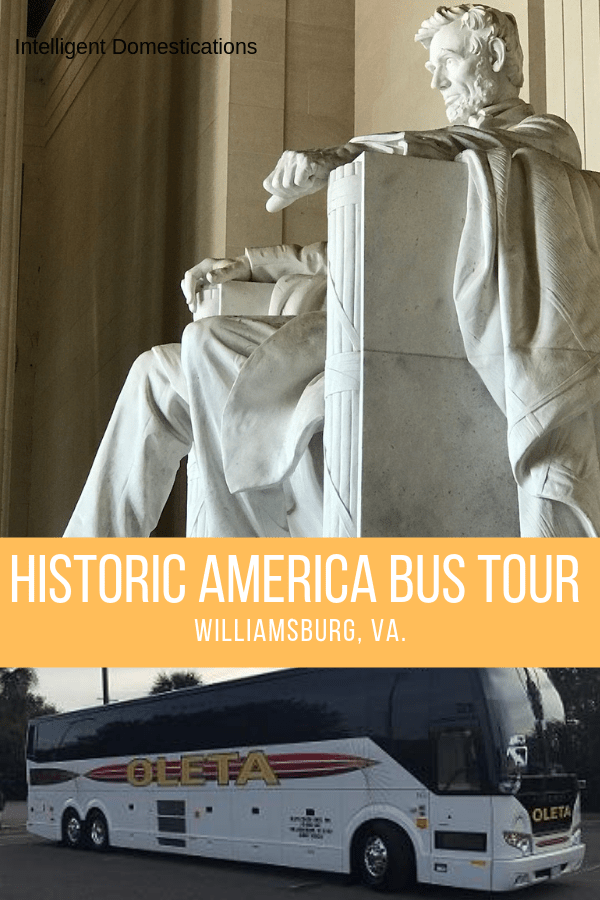 Taking the Historic America Bus Tour from Williamsburg Virginia was one of the highlights of our vacation. Our tour guide was extremely knowledgeable of American history during the American Revolution and shared a wealth of knowledge with us on each stop. Our stops included Washington DC, Yorktown and Williamsburg. #bustour #virginia