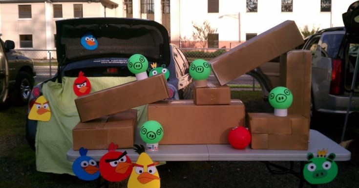 Trunk or Treat 2011 :: Angry Birds Edition