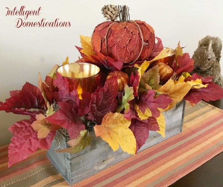 Rustic Fall Centerpiece DIY