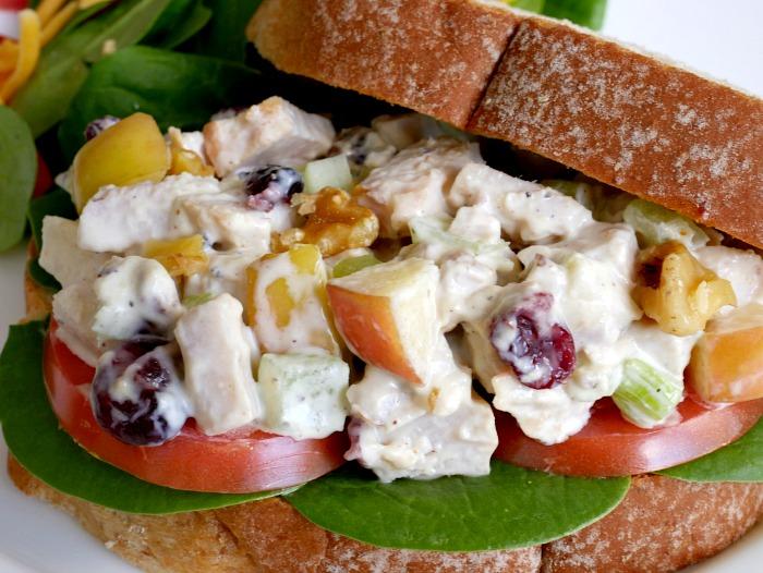 Simple Turkey Salad Sandwiches - Leftover Turkey Meal