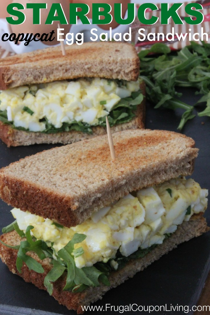 Copycat Starbucks Egg Salad Sandwich Recipe