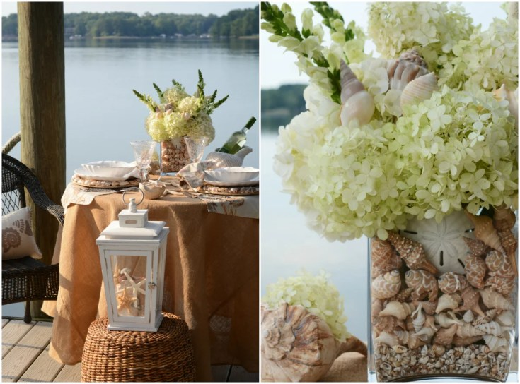 Dockside, Lakeside and Seaside Table forTwo