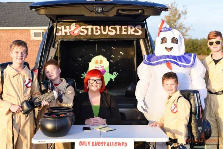 Best Trunk or Treat Ideas Including Ghostbusters