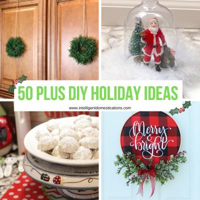 50 Plus Christmas Ideas All Through The House