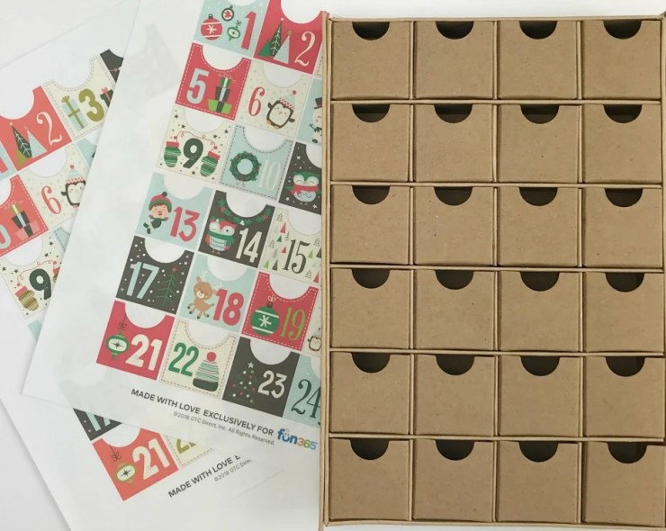 Make your own adorable Advent Calendar Box using our simple to DIY ideas. I'm sharing all my tips including supply list and easy instructions to make a similar Christmas Countdown Calendar Box