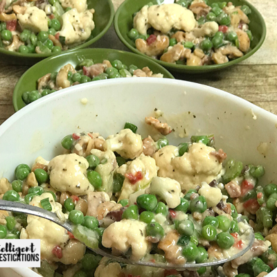 Old Fashioned Crunchy Pea Salad