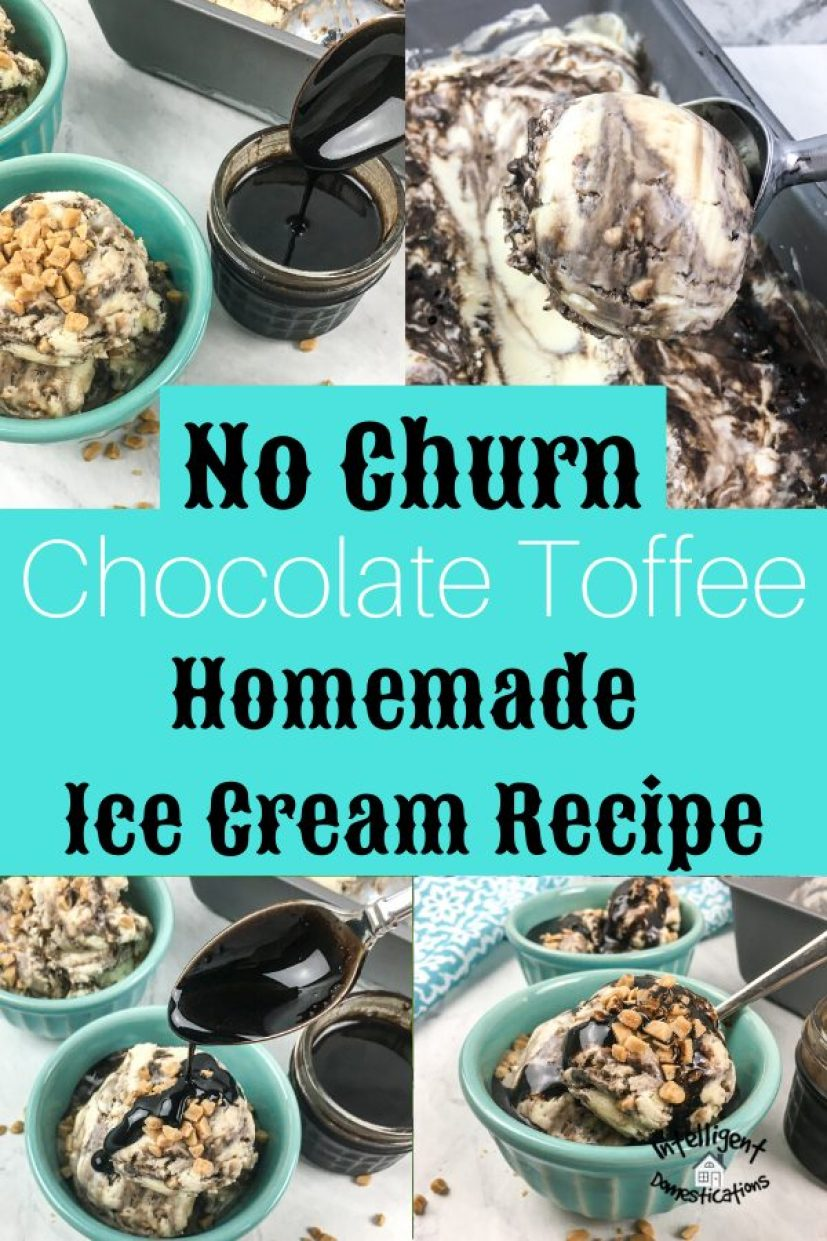 Pictures of homemade ice cream
