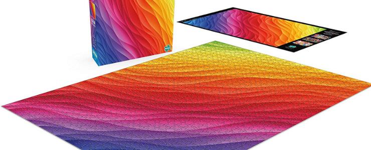 Color gradient puzzle