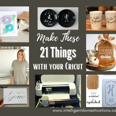 21 Crazy Easy Beginner Cricut Projects for You To Try