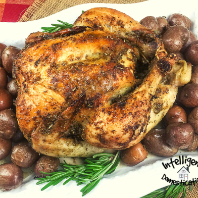 Lemon Pepper Oven Roasted Chicken and Potatoes