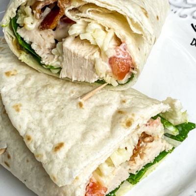 Chicken Bacon Ranch Wraps Instant Pot® Or Skillet Easy Recipe