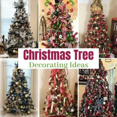 8 Christmas Tree Decorating Ideas