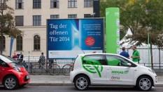 Elektromobilität war ein großes Thema beim Tag der offenen Tür