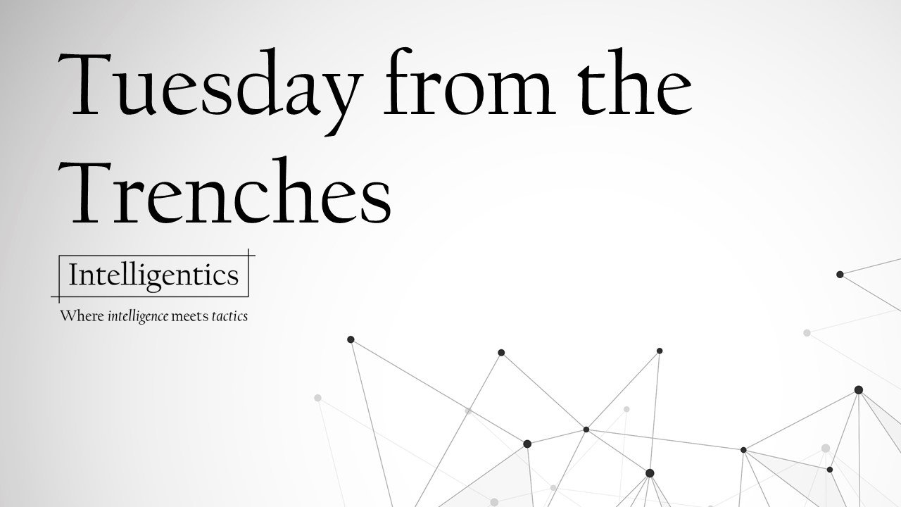 Tuesday From The #Trenches
