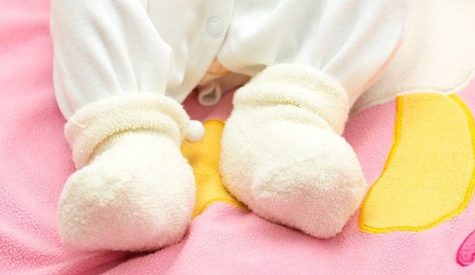 footed cotton baby