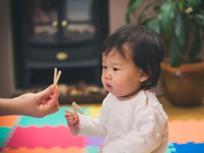 Babies absorb information