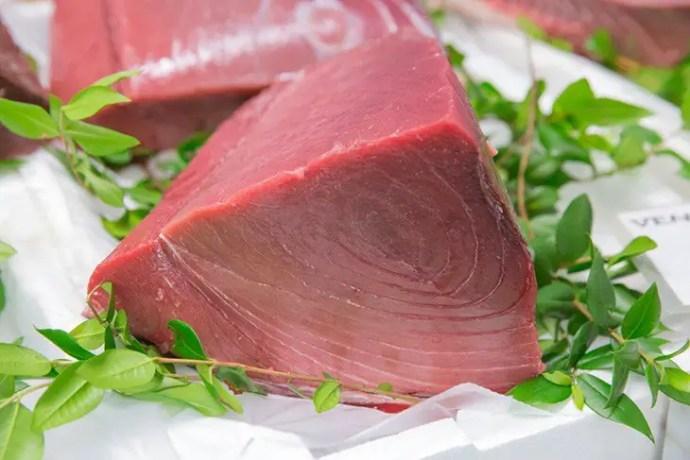 Tuna meat