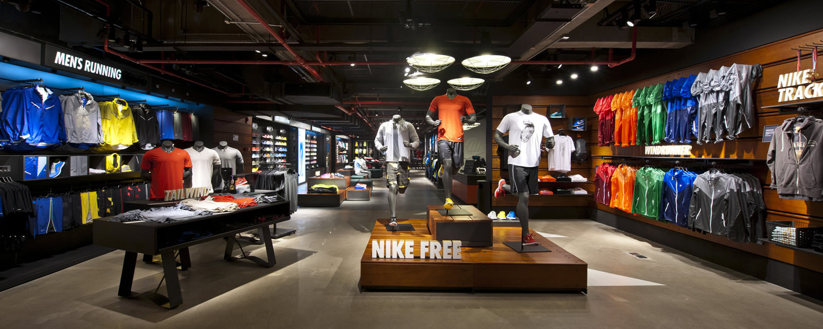 Réalisations : Nike Store Clouilly-Souilly (77)