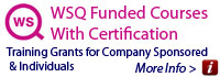 Up To 95% WSQ Training Grants