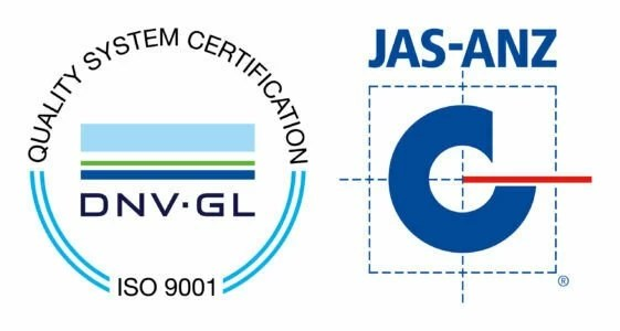 DNV GL ISO-9001 JAS ANZ-Certification