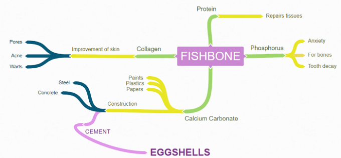 fishbone diagram by Coggle