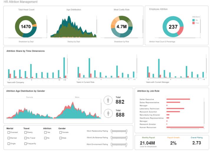 InetSofts dashboard screen shot
