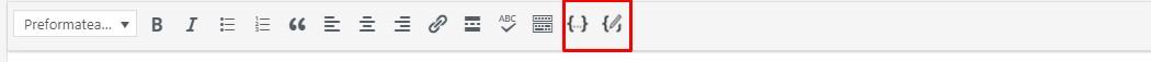 insertar y mostrar código en las publicaciones de mi blog wordpress - 2