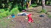 Ngenes kan kalo abis muncak mendapati tendanya begini... #korbanbabitambora