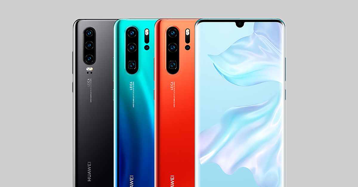 Huawei Unveils Its Latest Phones, the Huawei P30 and Huawei P30 Pro