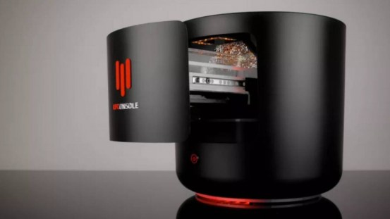 KFC has released a 240 FPS game console that heats up the chicken