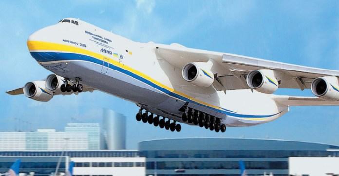 Antonov An-225 takeoff
