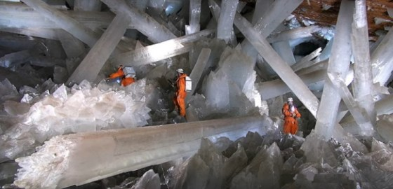 The Cave of the Giant Crystals