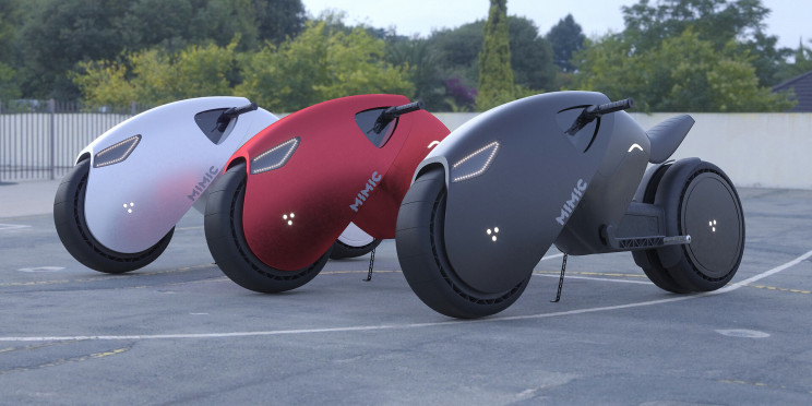 Akira-Like Electric Superbike Concept Provides Glimpse Into the Future