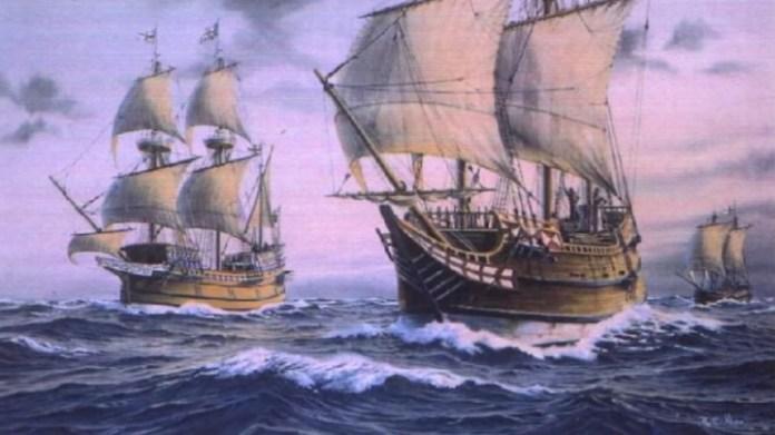 Spanish galleons