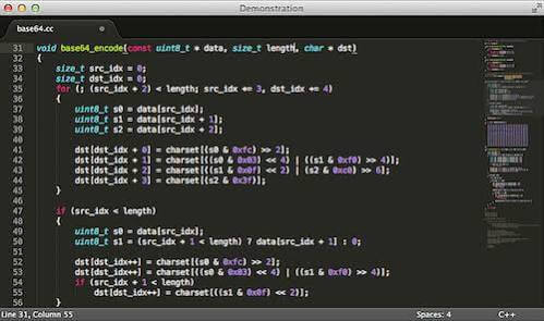 Sublime Text – 10 best code editors for programming in 2017