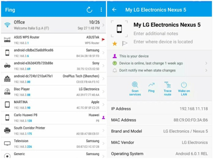 fing network tools best hacking apps for android