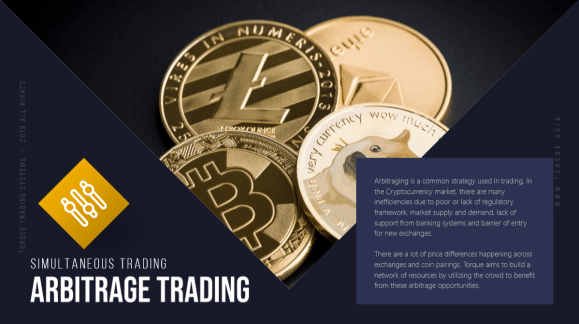 How does torques arbitrage trading work?