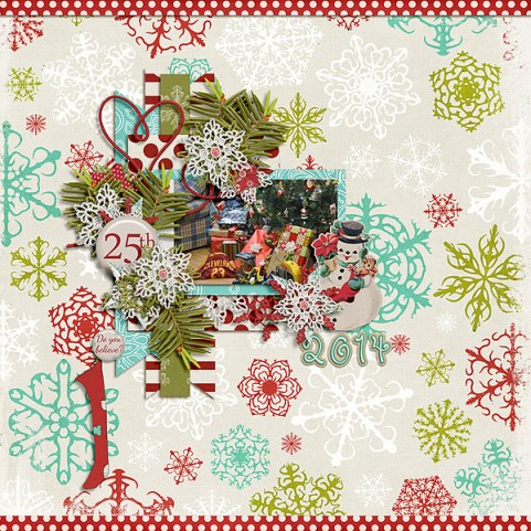 Sweet Santa by Etc. by Danyale Sweet Santa Star Cluster by Etc. by Danyale DSD 2015 Grab Bag by Sara Gleason and Crystal Livesay