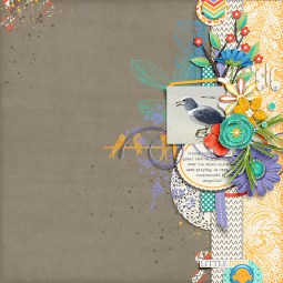 Little Bird by River~Rose Fun With Shapes V.3 by Crystal Livesay