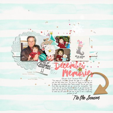Storyteller 2016 :: Holly Digital Kit - December Add-on by Just Jaimee and Anita Designs Storyteller 2016 December Sketched Templates by Just Jaimee