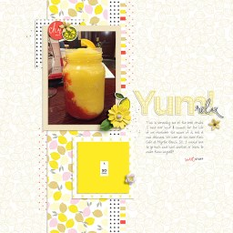 Lemonade Bundle and June 2106 Layout Templates by Sahin Designs