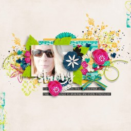 I Am Strong by River~Rose I Will Shine Templates by Crystal Livesay