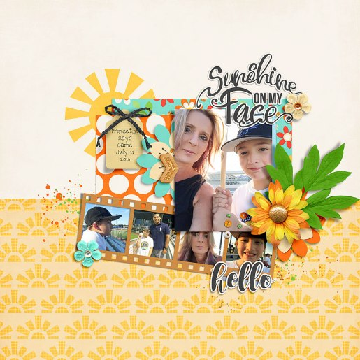 Mr. Golden Sun by River~Rose Mr. Golden Sun Papers by River~Rose July TDP Challenge Template by Wishing Well Creations