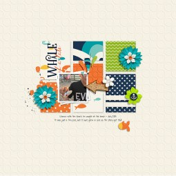 Whale of a Tale by River~Rose, Blockbuster Templates by Sahin Designs and Jimbo Jambo Desgins