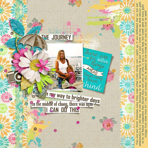 Brighter Days Kit by Etc. by Danyale Brighter Days Paint by Etc. by Danyale Brighter Days Journal Cards by Etc. by Danyale Design Story Templates No. 01 by Lynn Grieveson