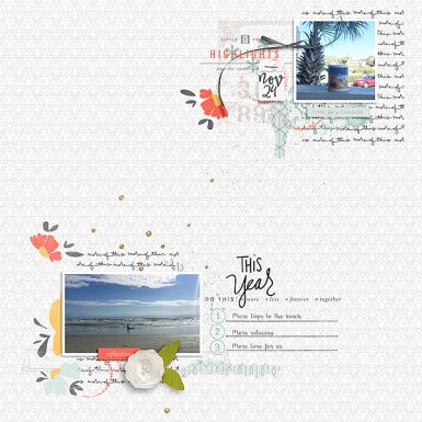 Count Your Blessings {Dressed Down} by Fiddle-Dee-Dee Designs This Year Papers by One Little Bird This Year Elements by One Little Bird This Year Journal Cards by One Little Bird State the Date by Pink Reptile Designs